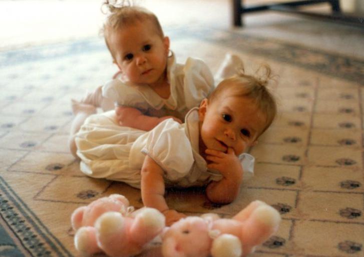 antes después MAry-Kate Ashley Olsen gemelas más famosas