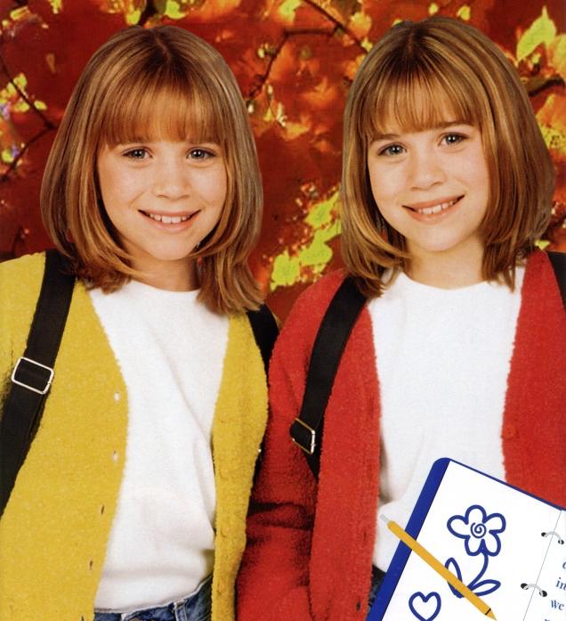 Olsen niñas hermanas