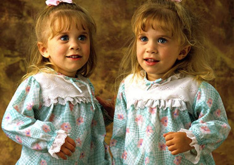 evolución gemelas Olsen bebés