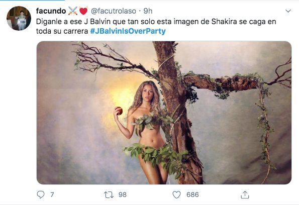 J Balvin Shakira