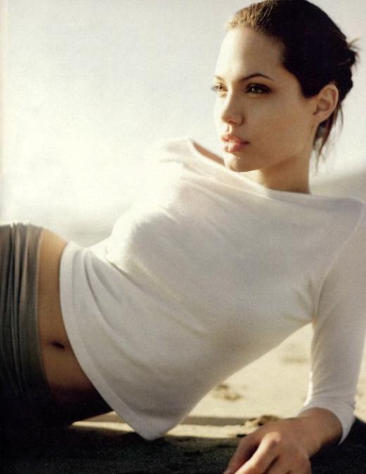 Angelina Jolie sensual sexy