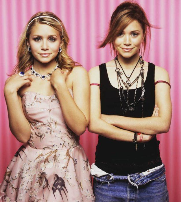 gemelas Olsen adolescentes