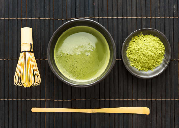 Mira la diferencia de matcha y té verde
