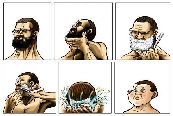 Memes que surgieron por los lineamientos de la nueva normalidad sobre el uso de bara y bigote