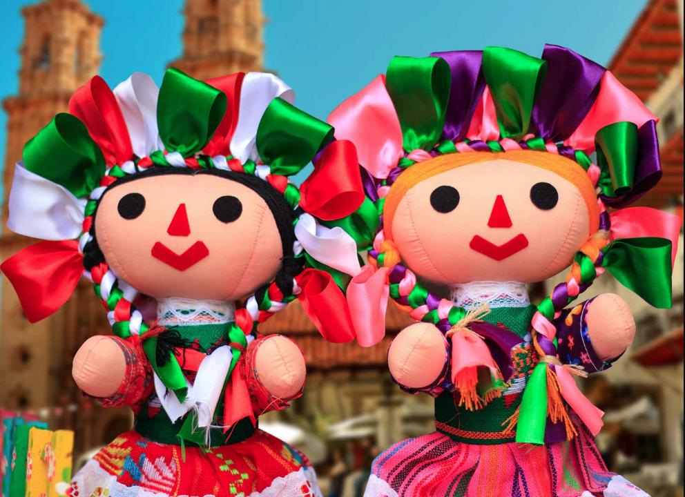 muñecas Marías mazahuas Amealco Querétaro