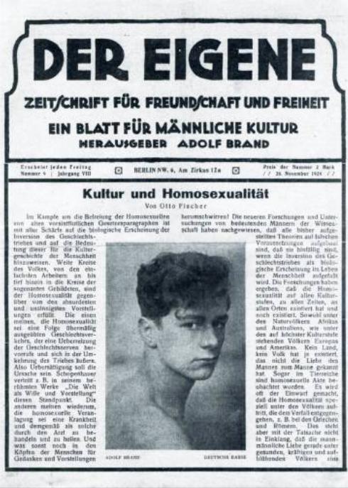 primera revista homosexual lgbt origen
