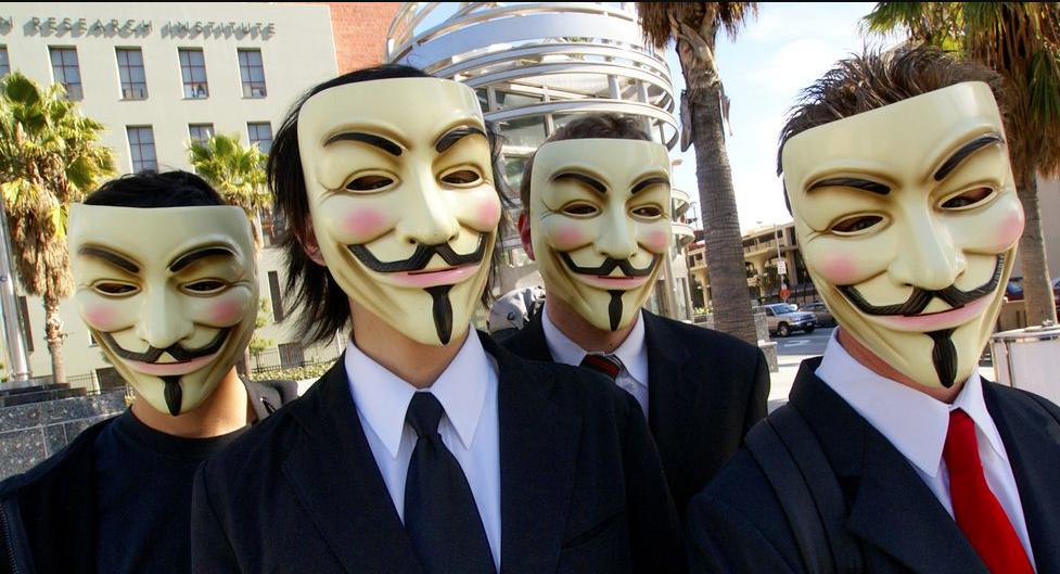que está pasando con Anonymous