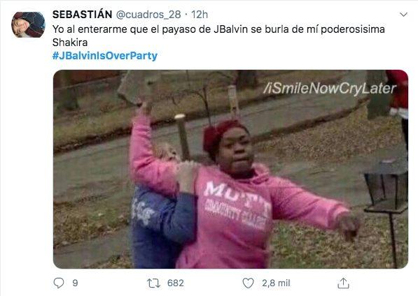 video J Balvin Shakira