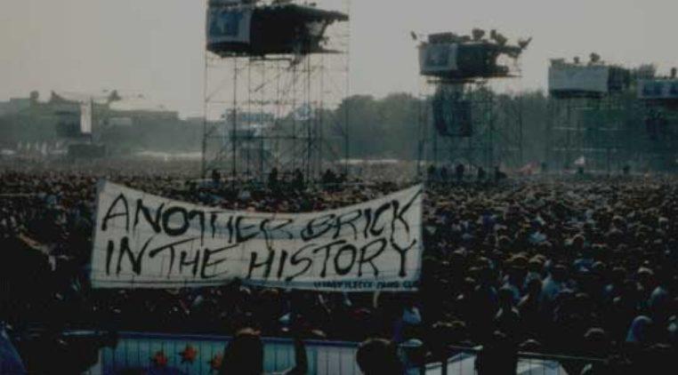 Roger Waters concierto caída muro Berlín
