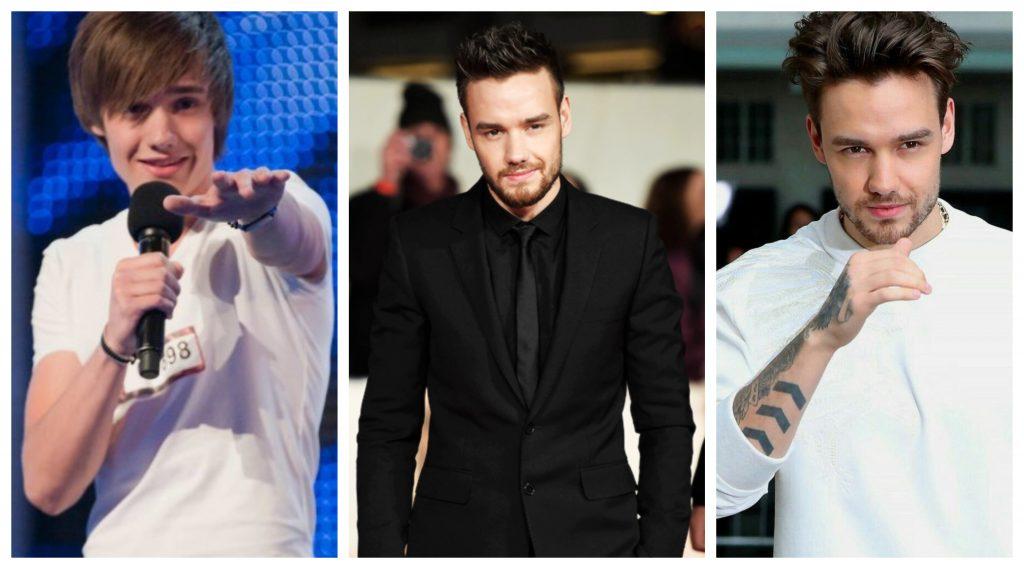 One Direction antes y después Liam Payne