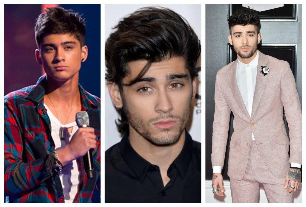 One Direction antes y después Zayn Malik
