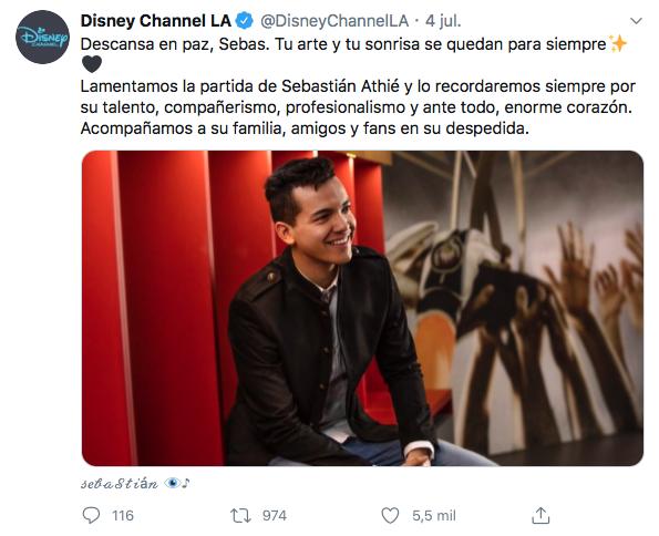 trágicas muertes actores Disney