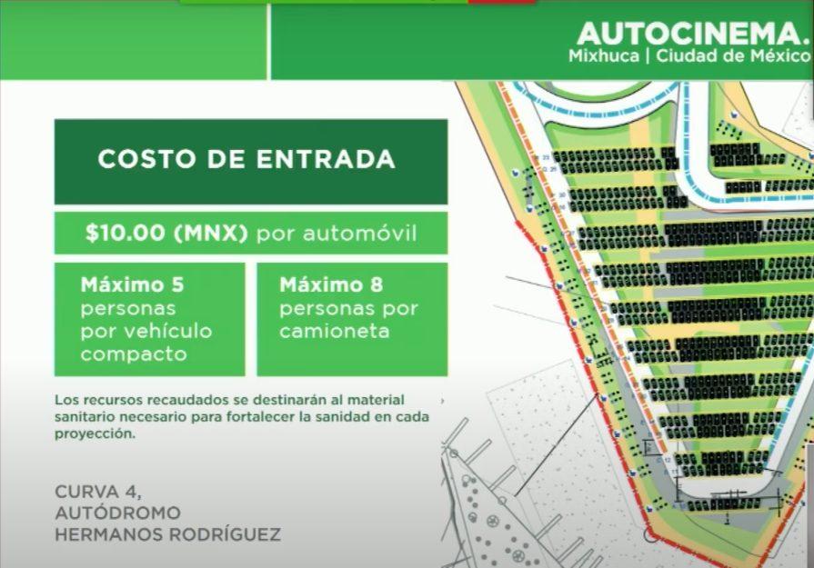autocinema mixhuca autódromo hermanos rodríguez