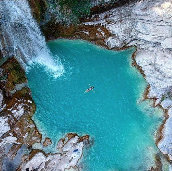 Cascada el aguacate puebla san agustín ahuehuetla