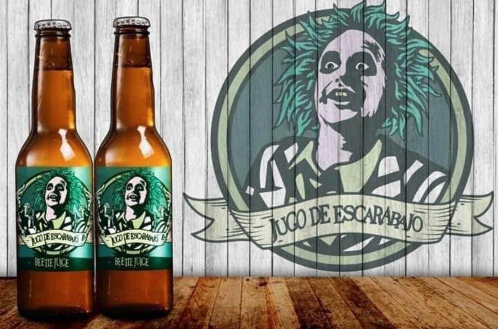 Cerveza estilo Tim Burton Beetlejuice