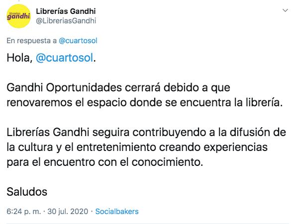 cierre Gandhi Oportunidades Miguel Ángel de Quevedo
