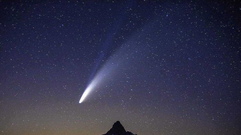 cómo cuándo dónde ver cometa NEOWISE México
