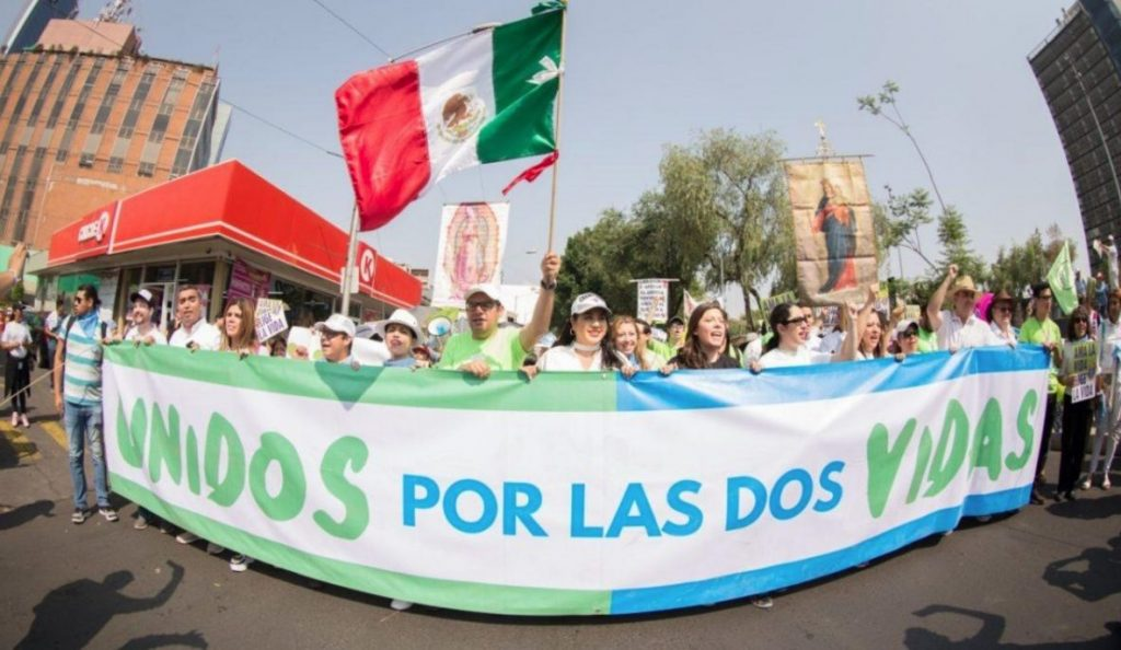 despenalización aborto México manifestaciones