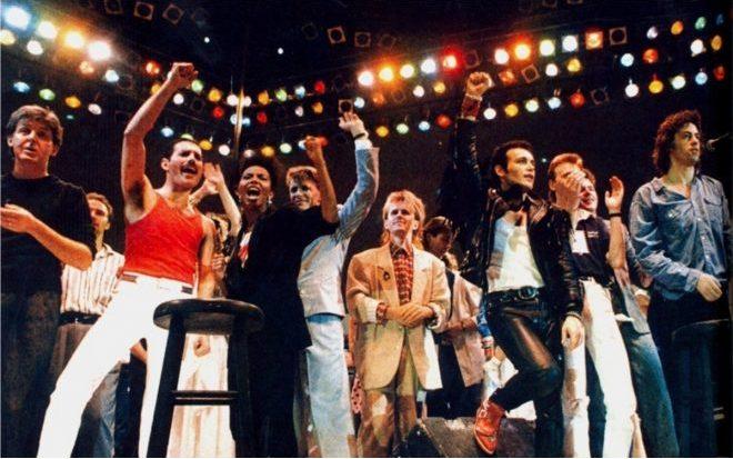 Live Aid día mundial del rock