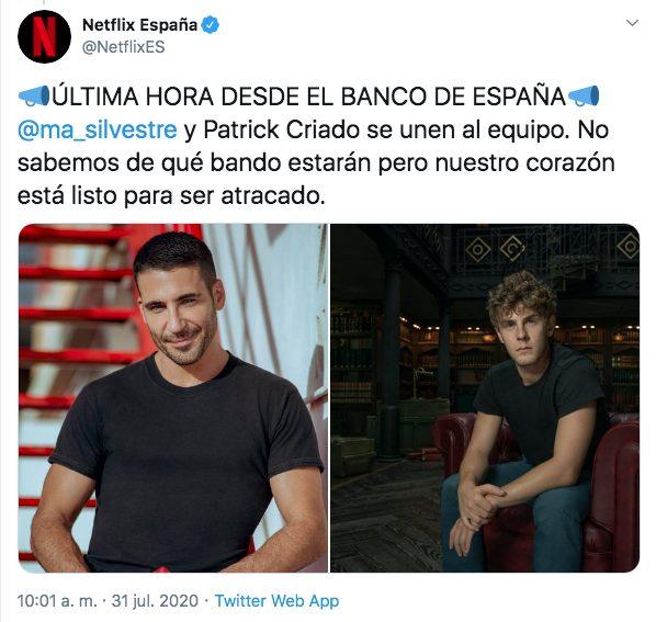 La Casa de Papel temporada final Netflix