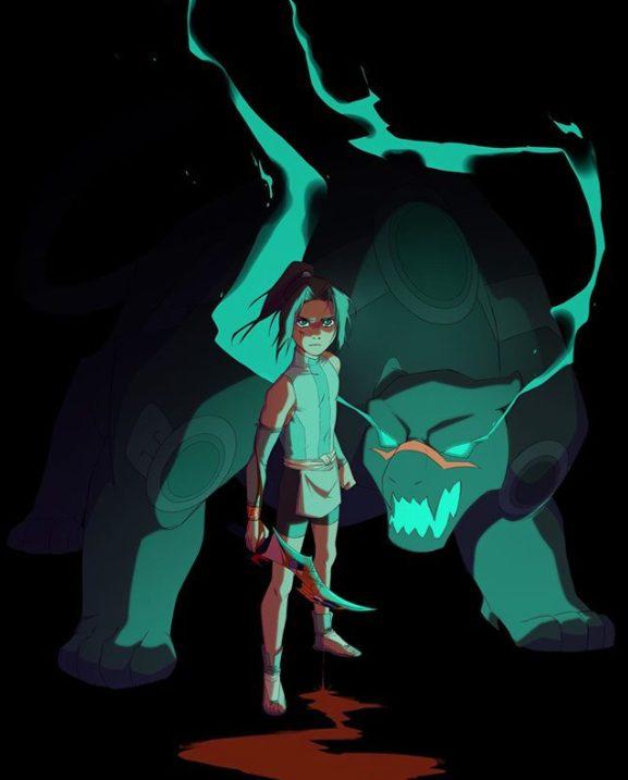 Onyx Equinox serie animada aztecas anime