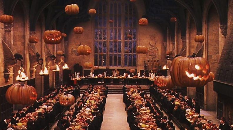 recorridos mágicos en Hogwarts