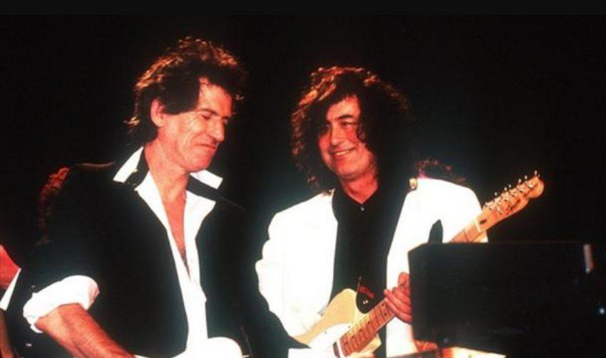 letra y traducción canción Scarlet Rolling Stones Jimmy Page