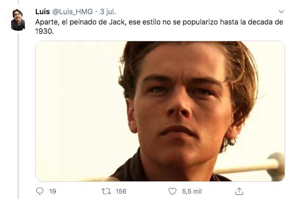 teoría Leo DiCaprio Titanic