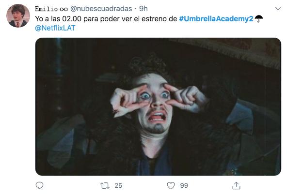 umbrella academy 2 estreno Netflix