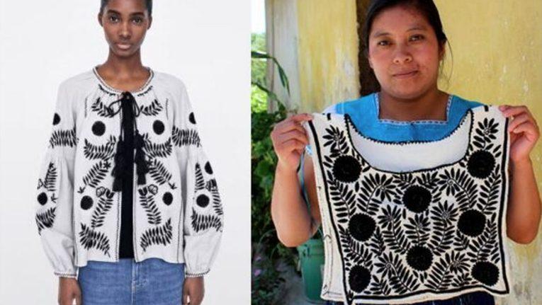 Zara plagio bordados indígenas