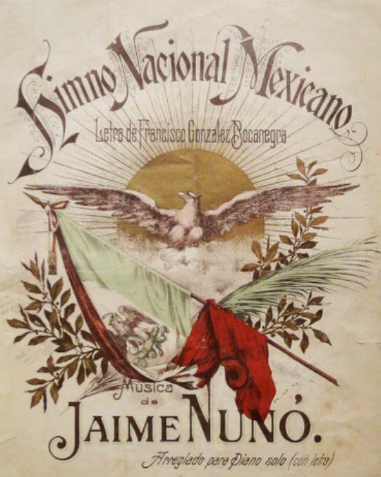 datos curiosos Himno Nacional Mexicano curiosidades