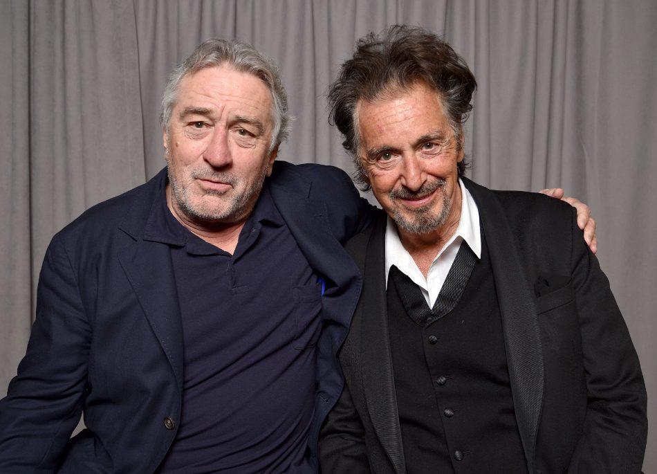 Robert De Niro Al Pacino Gucci película Ridley Scott