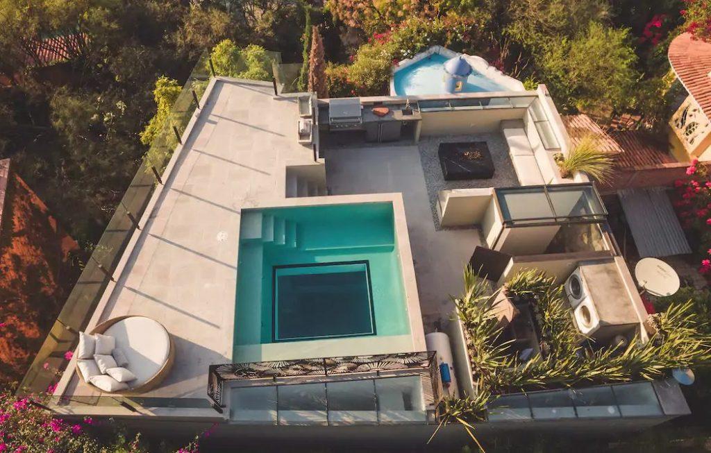 Guanajuato alberca techo casa airbnb