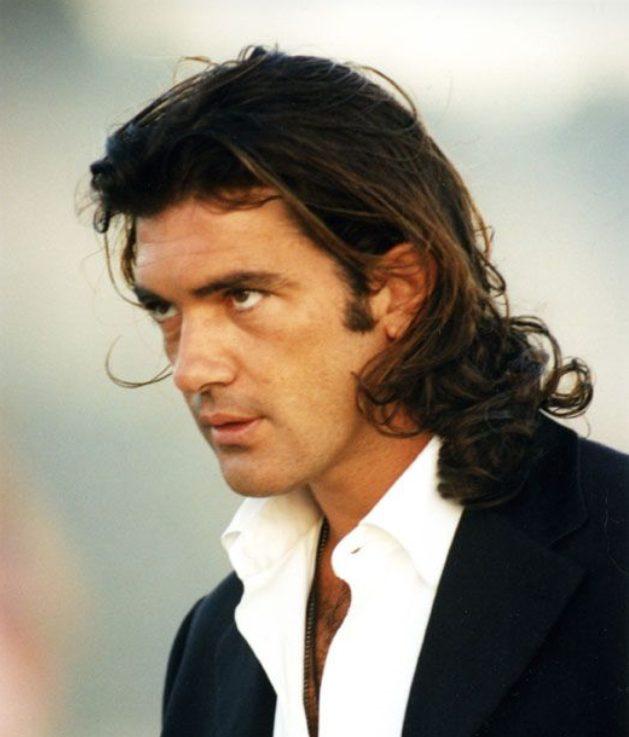 Antonio Banderas joven