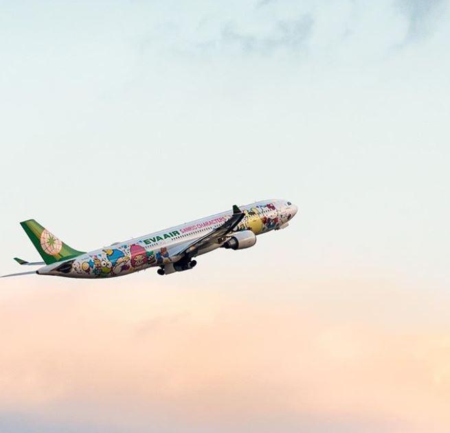 Cuando todo esto pase… lánzate a Taiwán y súbete ¡al avión de Hello Kitty!