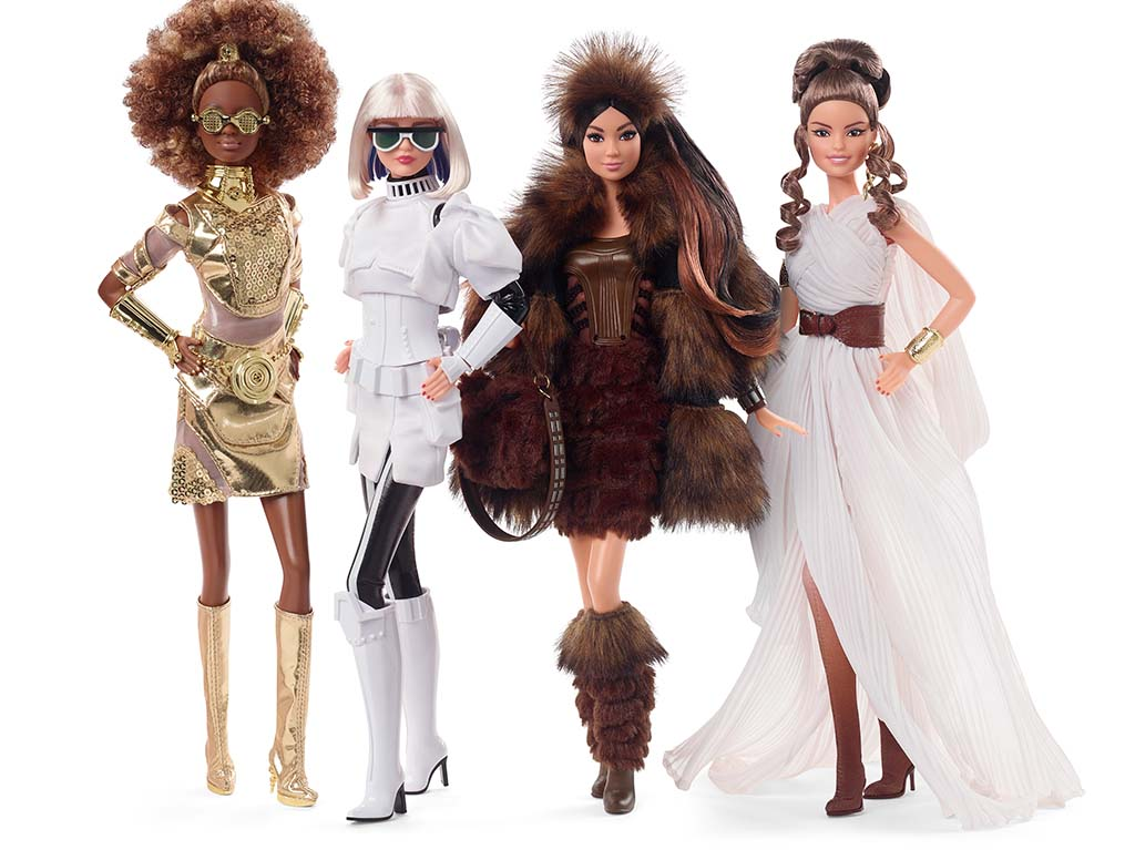 Barbie lanza la segunda colección inspirada en Star Wars