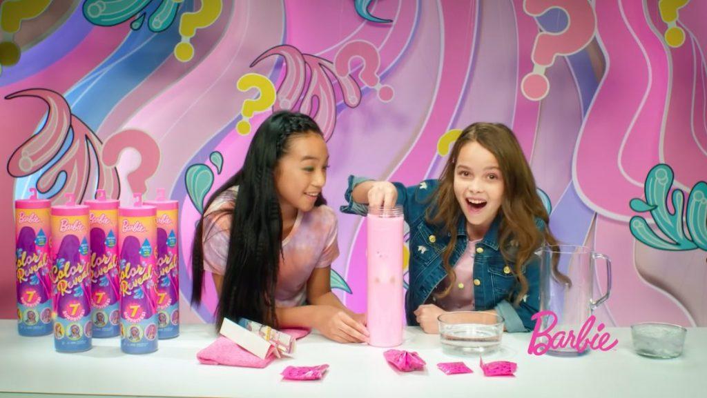 Barbie Color Reveal nueva colección comida