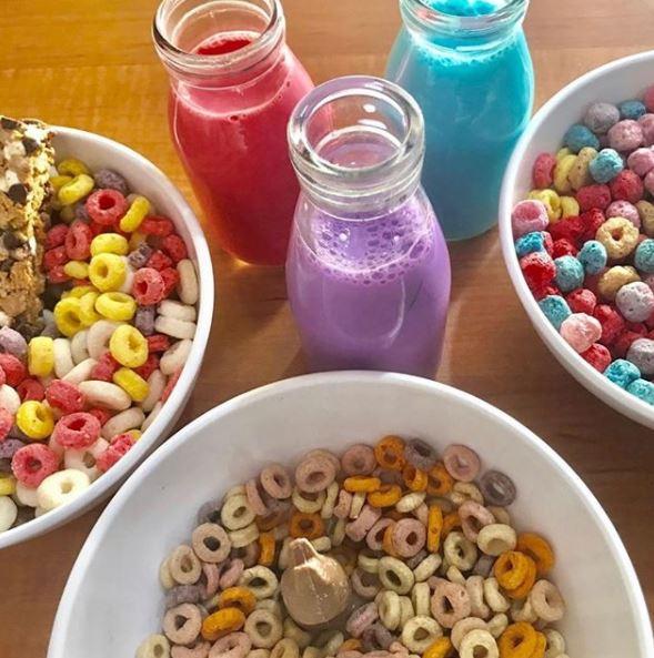 Cereal de pan de muerto