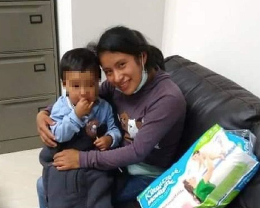 Dylan  niño rescate Chiapas