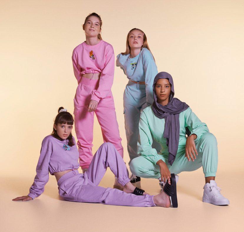 Powerpuff Girls colección ropa