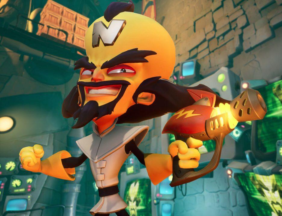 Crash Bandicoot 4 trailer modo invertido