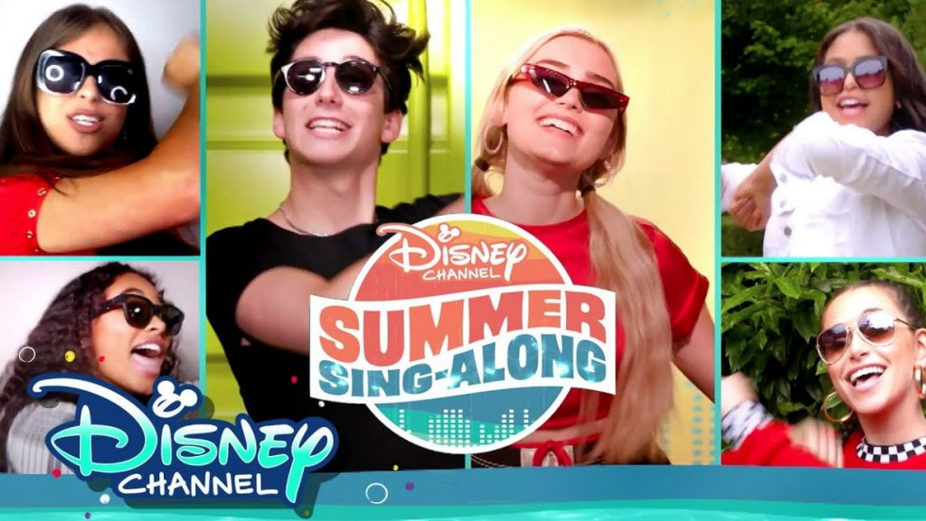 disney channel Song Along