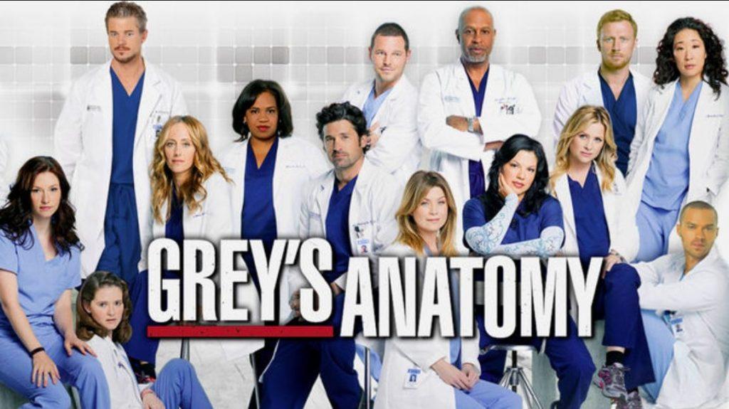 Grey's Anatomy besos