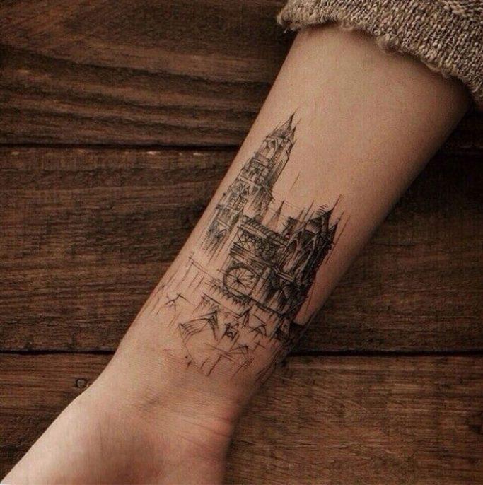 ideas tatuaje arquitecto