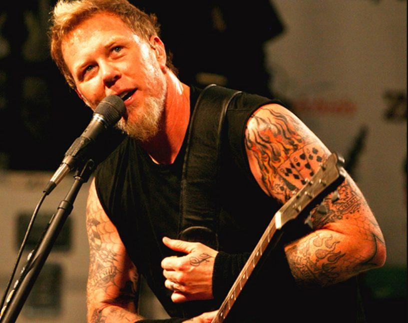 James Hetfield curiosidades Metallica