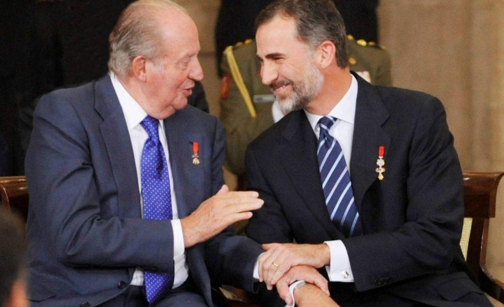 Juan Carlos I se va España corrupción