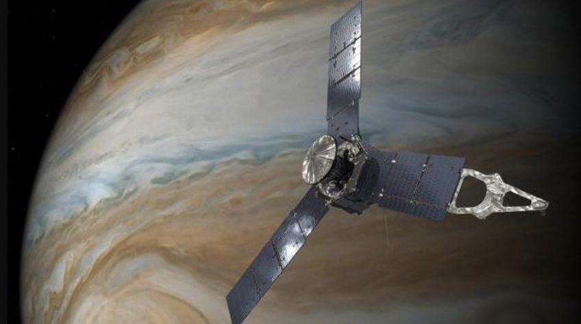 descargas eléctricas Júpiter NASA