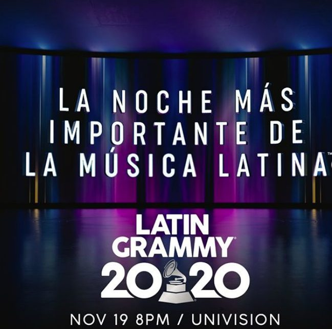 Latin Grammy fecha