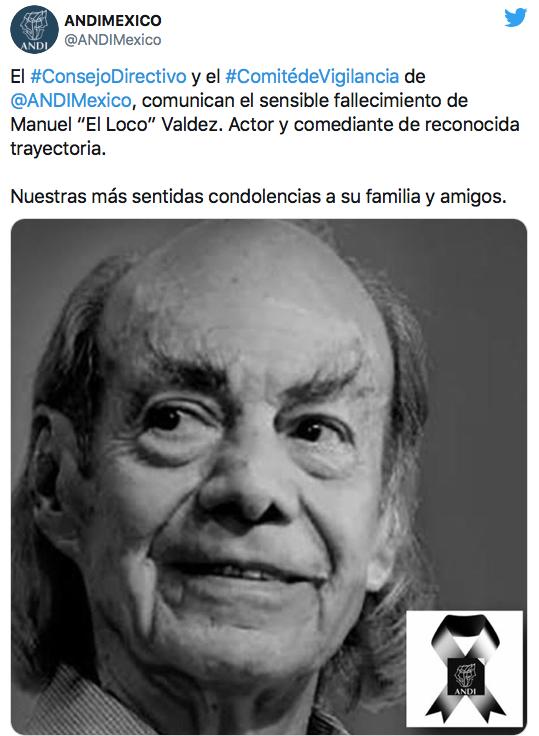muere Manuel Loco Valdés