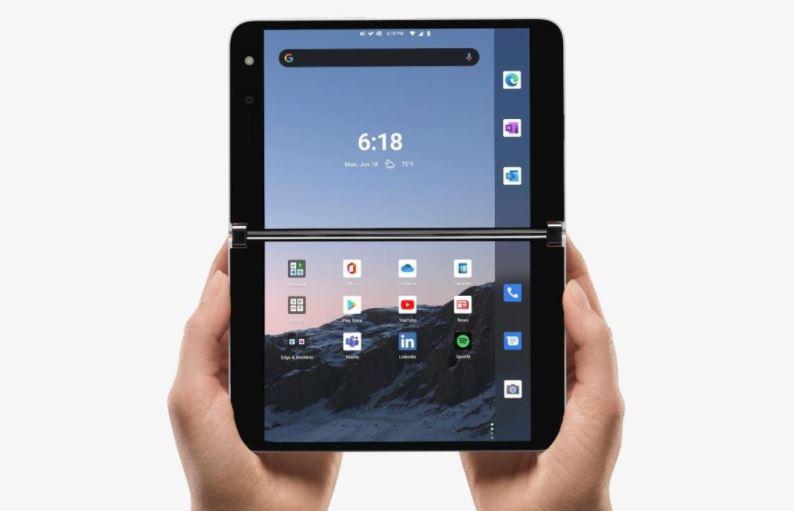 Microsoft regresa al mundo de los smartphones con Surface Duo